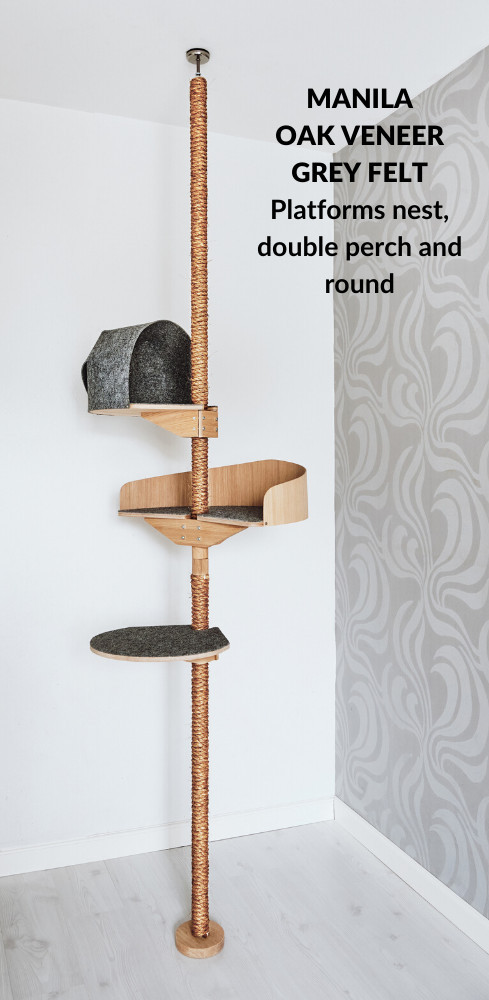 Designer_cat_tree_stylish_climbing_tree_manila_oak_grey_reduced