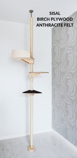Kissapuu_cattree_Happiness_birch_sisal_anthracite